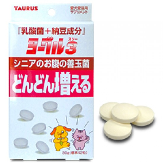Йогуру 3 Натто - про и пребиотик для животных старше 7 лет